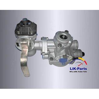 Bremsventil Anhänger  Zweikreis 4 stufig Bremsregler Vergleich Wabco 9710021507
