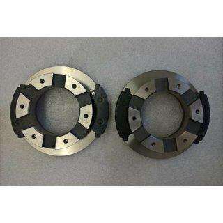 Bremsscheibe Bremsbelag Hinterachse Satz für Mitsubishi Fuso Canter FEA01 FEB01