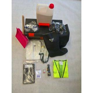 Gefahrgutausrüstung Schutzausrüstung Gefahrgutkoffer ADR 4 LKW DAF MAN Mercedes