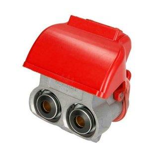 Duo-Matic Schnellkupplung Kupplung DAF MAN MB LKW Anhänger Wabco 4528050040